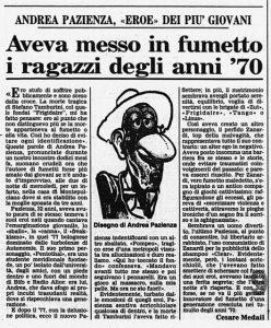 andrea pazienza tamburini frigidaire eroina cctm paz poesia italia latino america