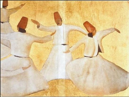 franco battiato dervisci uomo che dipinge danzanti pittura italia latino america cctm caracas arte poesia