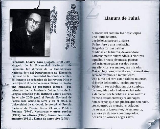 fernando charry lara colombia latino america cctm arte amore poesia cultura bellezza