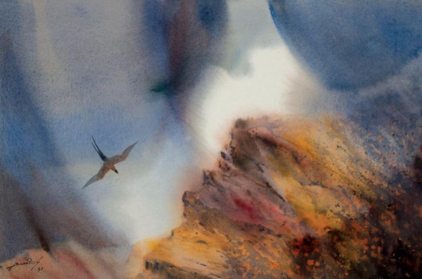 Ignacio Barrios méxico messico acuarela watercolor cctm arte pitura latino america poesia amore bellezza cultura