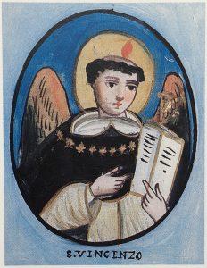 Pincisanti San Vincenzo Ferrero sicilia cctm arte amore sacra votiva pittura cultura bellezza poesia latino america