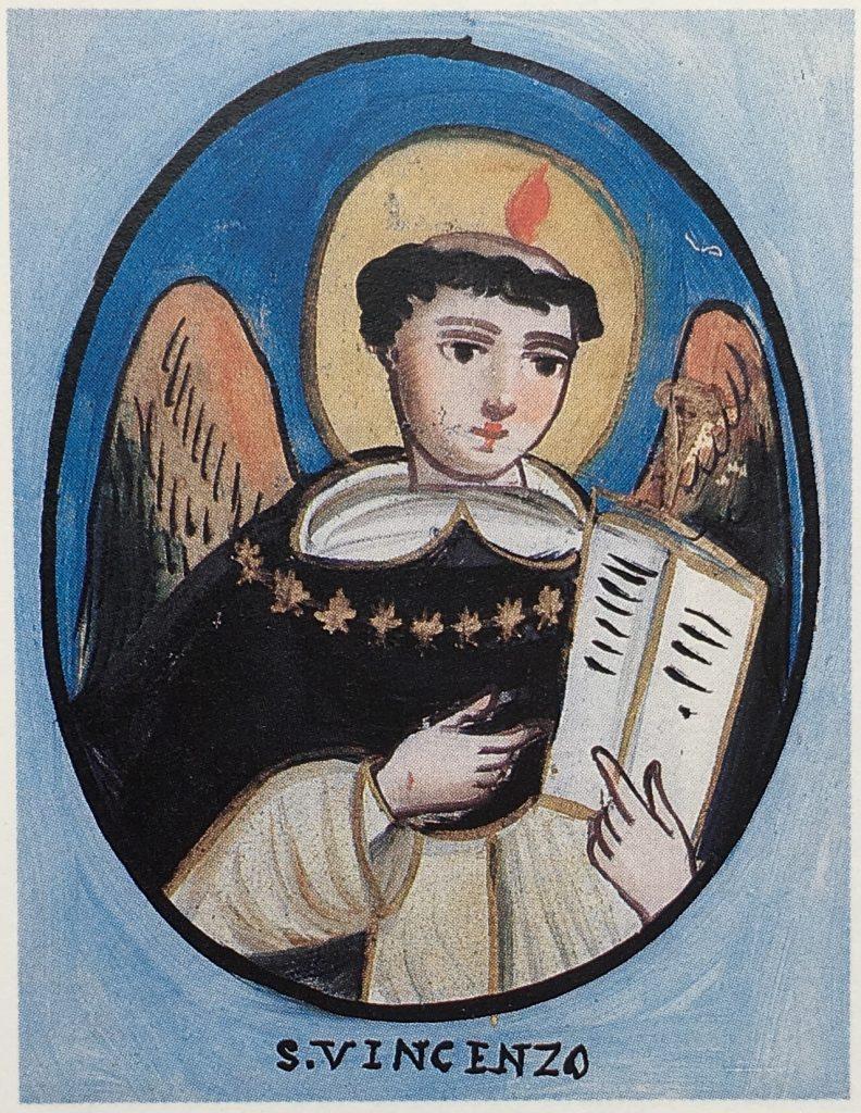 Pincisanti cantastori San Vincenzo Ferrero sicilia cctm arte amore sacra votiva pittura cultura bellezza poesia latino america