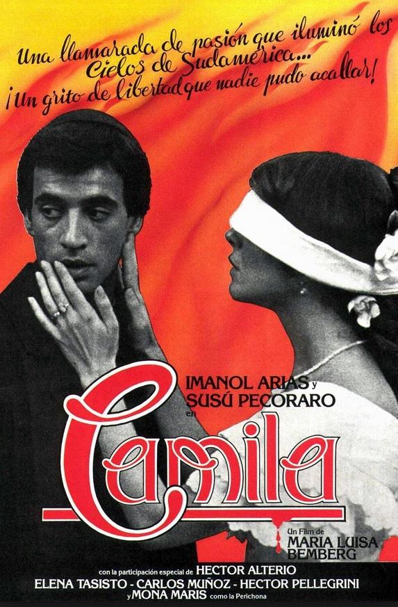 camila camilla amore proibito maria luisa bemberg cctm arte poesia morte amore cultura latino america bellezza film