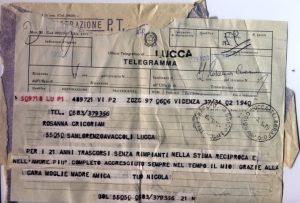 telegrammi d' amore