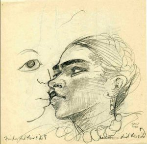 frida kahlo diego rivera cctm arte amore cultura poesia italia latino america bacio