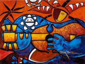 oscar ortiz cuatro en grande puerto rico portorico cctm arte amore poesia pittura cultura bellezza italia latino america