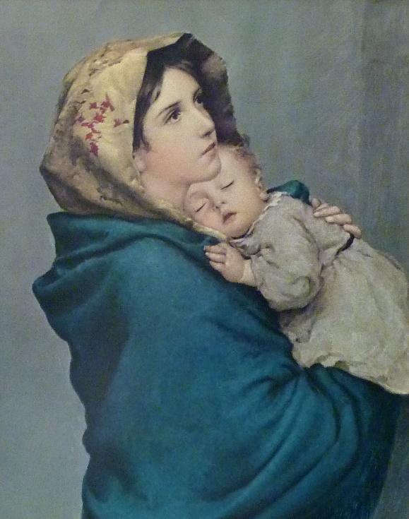 roberto ferruzzi la madonnina cctm arte amore cultura belleza pittura poesia italia latino america