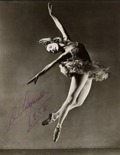 Alicia Alonso 1958 ballerina cuba danza miglior sito letterario miglior sito poesia cctm arte amore cultura bellezza italia latino america