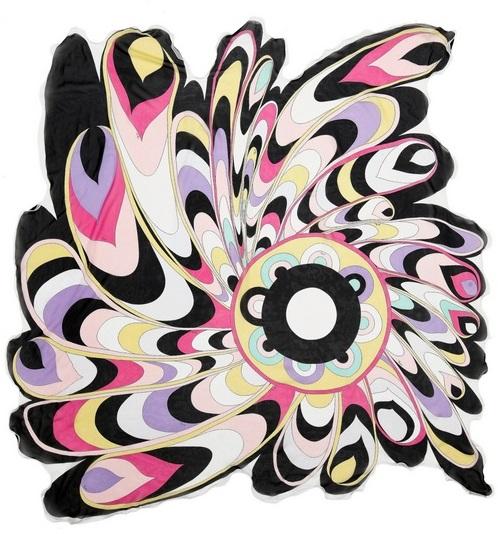 emilio pucci basento sciarpa seta moda made in italy cctm arte amore cultura bellezza poesia italia latino america