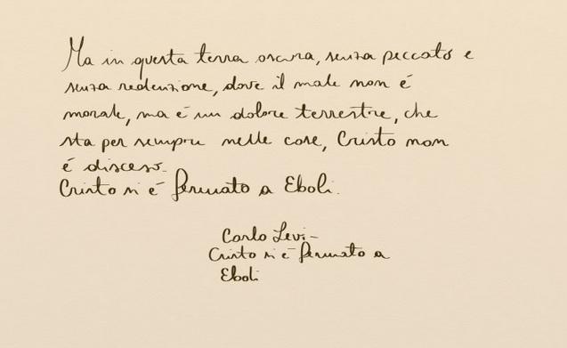 carlo levi cristo si è fermato a eboli capolavori italia latino america cctm arte amore cultura bellezza poesia miglior sito letterario miglior sito poesia