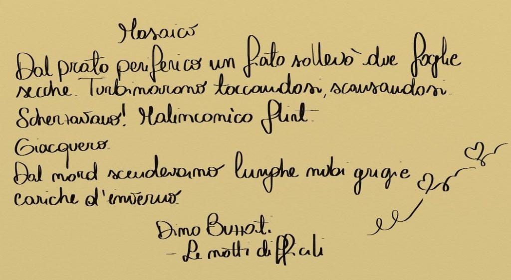 dino buzzati mosaico notti difficili cctm amore arte bellezza cultura poesia italia latino america leggere miglior sito poesia miglior sito letterario
