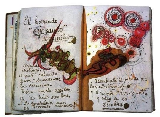 el horrendo ojosauro Frida Kahlo diario cctm arte amore bellezza cultura poesia italia latino america messico miglior sito poesia miglior sito letterario