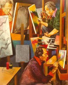 renato guttuso l'atelier arte pittura italia latino america cctm amore bellezza cultura poesia miglior sito letterario miglior sito poesia leggere