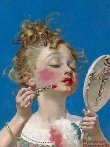 coco chanel se sei triste norman rockwell cctm moda donne amore arte cultura bellezza poesia italia latino america leggere miglior sito poesia miglio letterario rossetto rosso