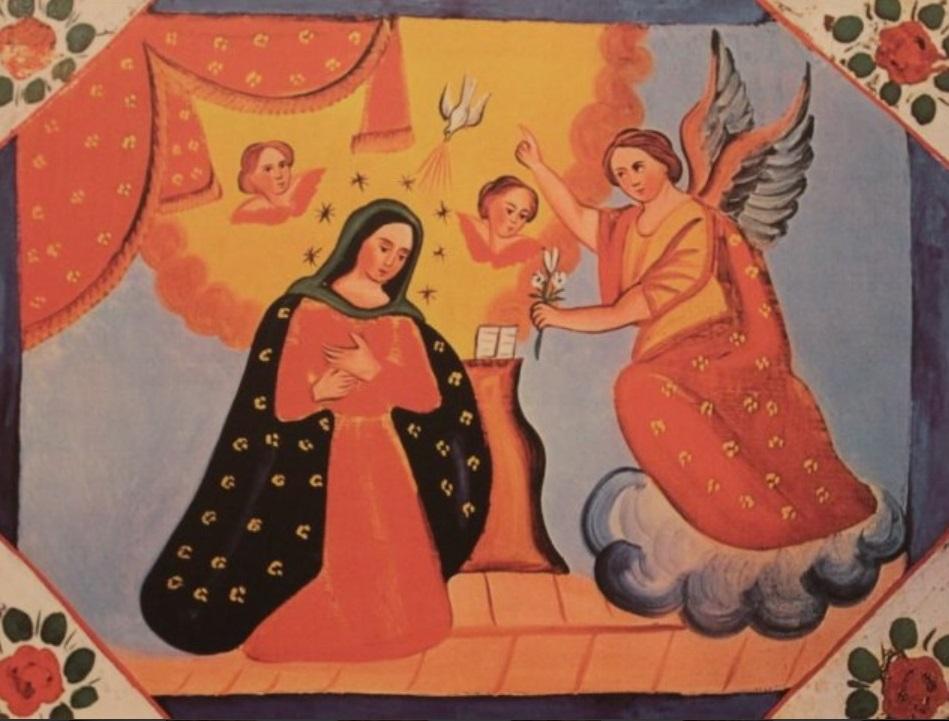 pincisanti annunciazione arte popolare cctm arte italia latino america