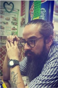 Rudy Fabián Cifuentes Ayala cctm poesia italia latino america