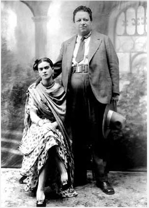 diego rivera frida kahlo wedding photo cctm