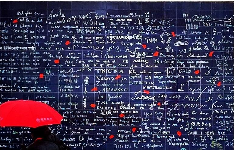ti amo in tutte le lingue del mondo cctm amore le mur des je t'aime