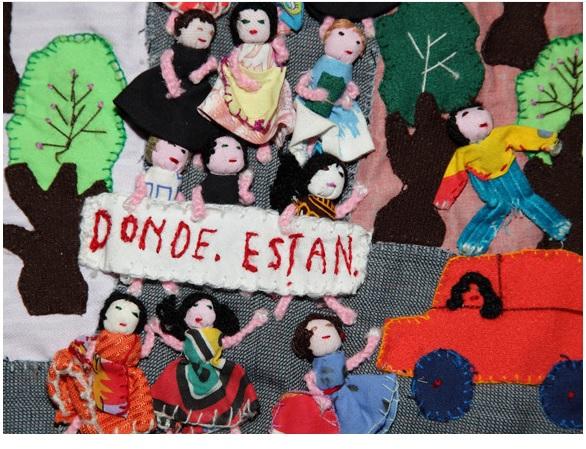 roberta bacic arte tessile Arpilleras cctm donne
