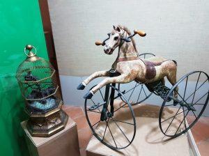 cavallo a dondolo museo del giocattolo napoli cctm cultura