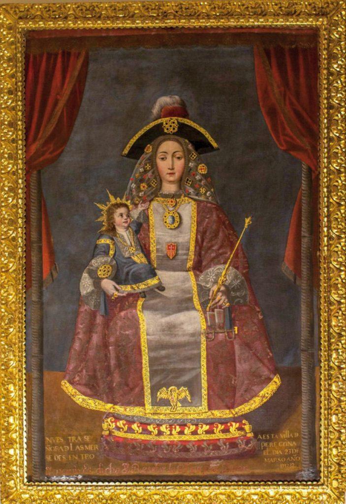 peregrina de quito Melchor Perez Holguin barocco andino cctm