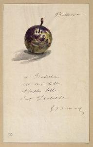 Edouard Manet a Isabelle Lemonnier cctm arte amore cultura bellezza lettere