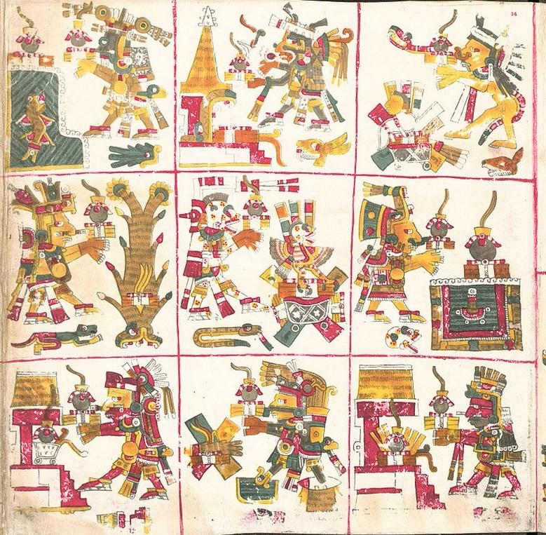 codice borgia biblioteca apostolica vaticana americhe precolombiane cctm cultura