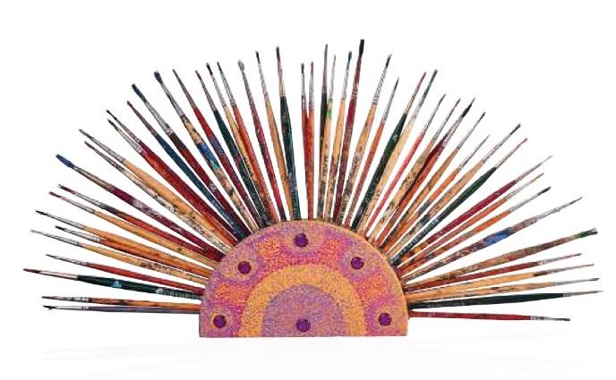 Luisa Moradei alesandro goggioli ventagli d' artista cctm arte cultura a noi piace leggere