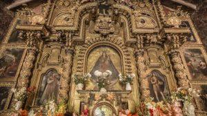 virgen purificada barocco andino cctm arte Perù a noi piace leggere