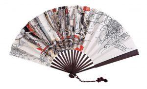 giacomo soffiantino collezione Luisa Moradei ventagli d'artista cctm a noi piace leggere cultura