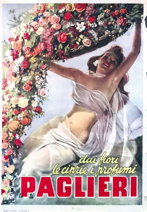 gino boccasile primavera fiori cctm pittura a noi piace leggere