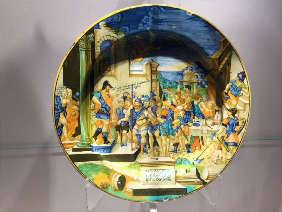 francesco xante avelli ceramica arte cctm a noi piace leggere capolavori