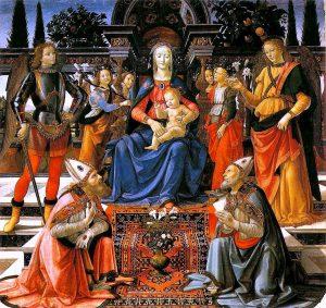 Domenico Ghirlandaio Uffizi Firenze cctm capolavori a noi piace leggere