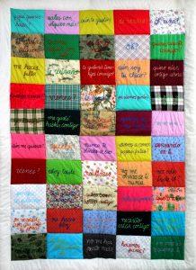 ana teresa barboza Perú artista plastica cctm patchwork a noi piace leggere
