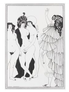 Aubrey Beardsley eros erotico cctm a noi piace leggere