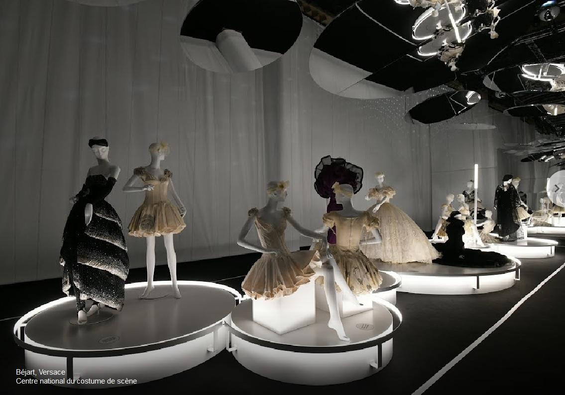 Gianni Versace e Maurice Béjart cctm danza moda made in italy