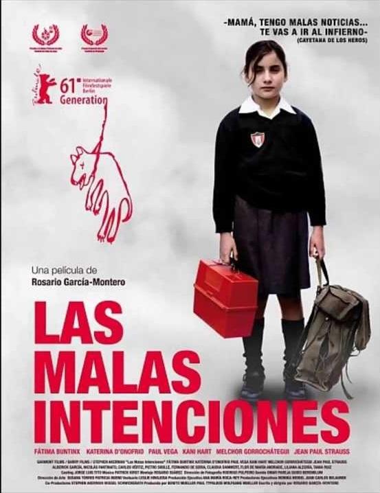 Rosario Garcia-Montero Las Malas Intenciones film registi cctm Perú