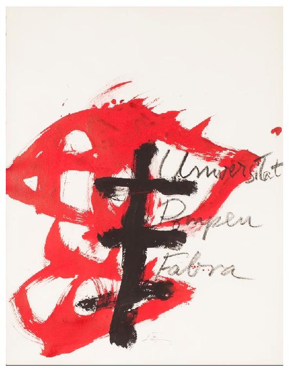 Antoni Tàpies (España) i Puig cctm pittura a noi piace leggere