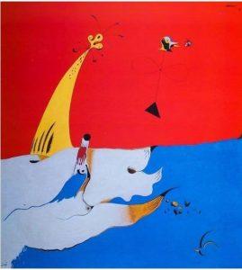 Joan Miró Paesaggio España cctm surrealismo pittura