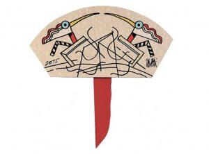 ventagli d' artista – la collezione Moradei fabio de poli cctm arte a noi piace leggere