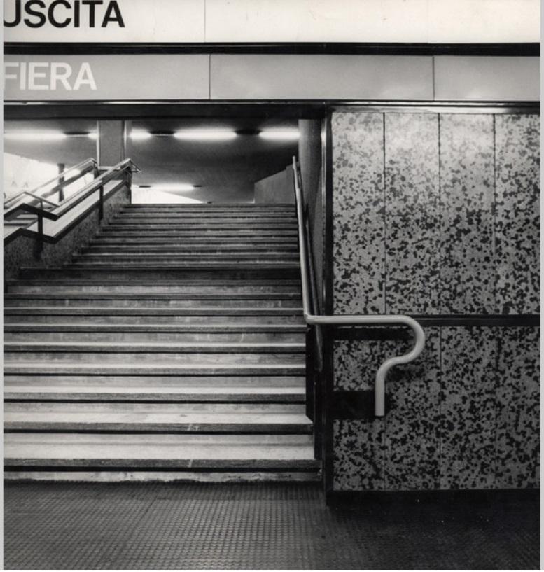 Franca Helg Franco Albini metropolitana Milano cctm architetti
