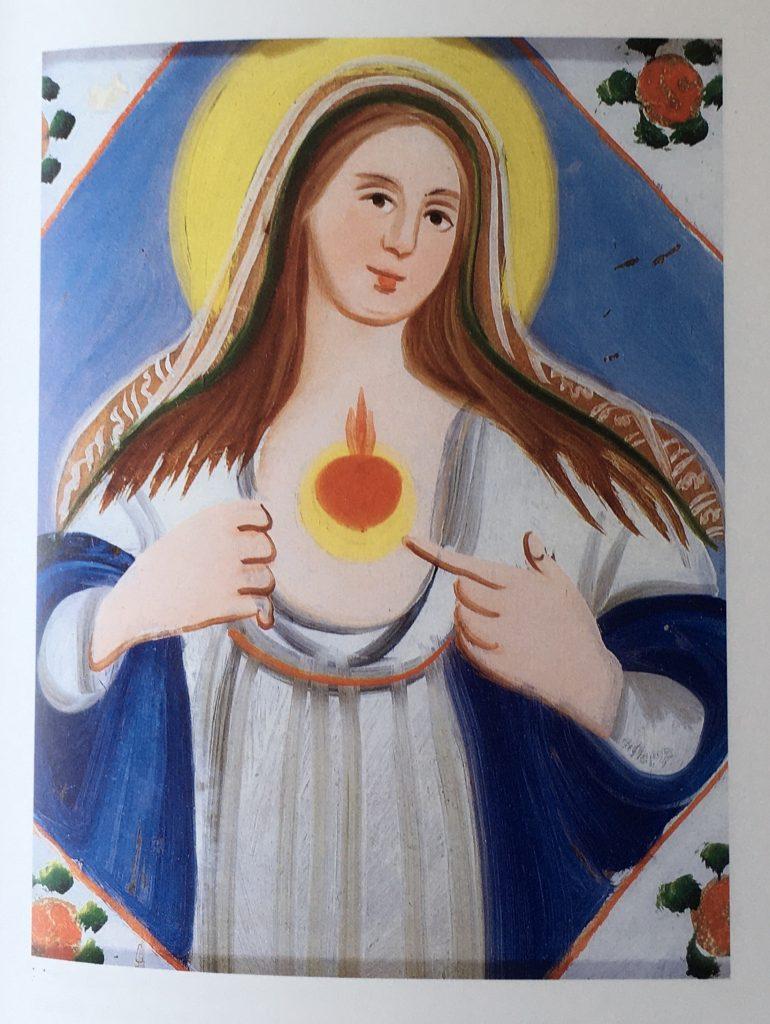 pincisanti cuore di Maria arte popolare sicilia cctm a noi piace leggere
