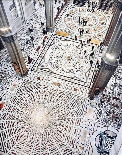 pavimento della cattedrale santa maria del fiore firenze cctm