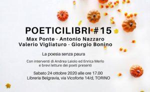 ci vediamo a Torino il 24 ottobre? antonio nazzaro max ponte libreria belgravia cctm a noi piace leggere