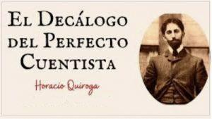 Horacio Quiroga il decalogo del perfetto scrittore cctm leggere uruguay