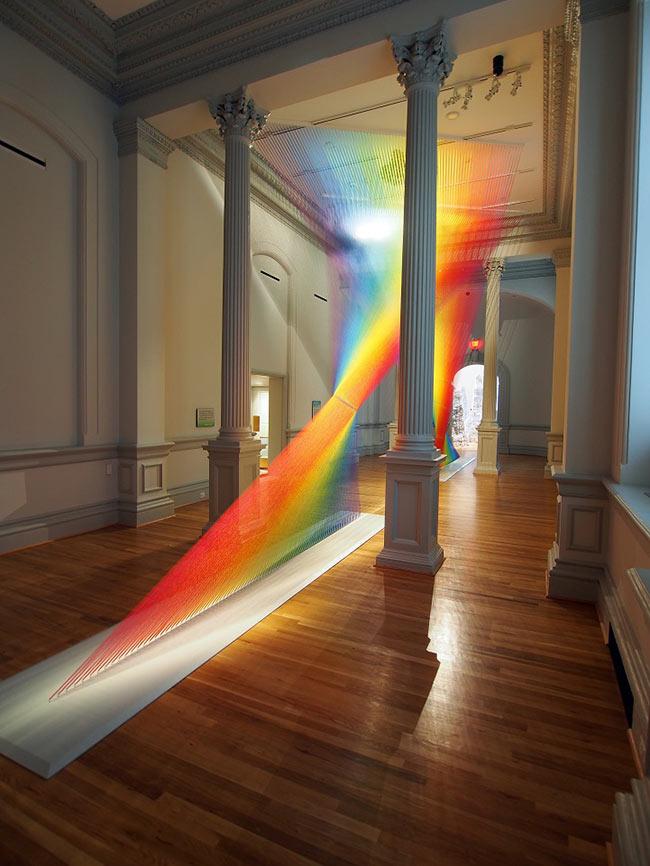 gabriel dawe plexus rainbow cctm arte cultura