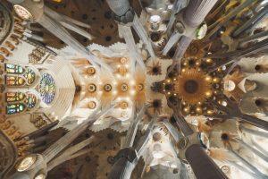 sagrada familia Antoni Gaudí barcelona cctm architetti bellezza