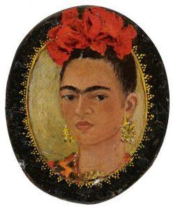 Frida Kahlo Autorretrato autoritratto cctm pittura mexico donne