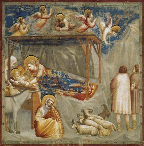 giotto Natività di Gesù natale scrovegni cctm a noi piace leggere