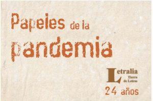 papeles de la pandemia Antonio María Flórez colombia poesia latino america covid cctm a noi piace leggere